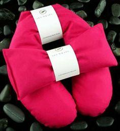 Cotton Aromatherapy Herbal Neck Wrap with Free Lavender Eye Pillow - Pink Color by Spa Wraps, http://www.amazon.com/gp/product/B008EYNB7I/ref=cm_sw_r_pi_alp_DwXcrb118TM27
