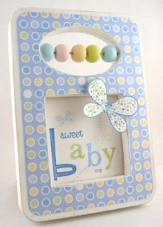 Very cute baby card!