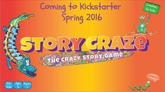 This game contains all the things to get kids imaginations running wild. So if you and your kids are into making up crazy stories about super heroes and things like sharkbearagators and unicorns and tacos and campfires and castles in the sky, then Story Craze is for you! We think all y'all will love it as much as we do!