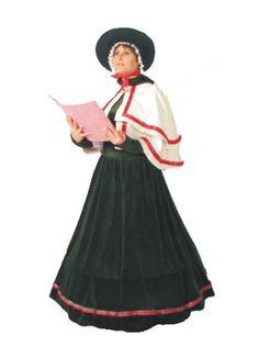 Women's Premium Christmas Caroler Costume