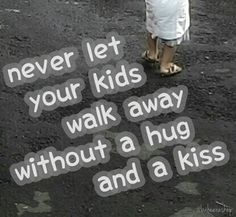 Big hug and kiss