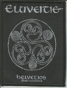 ELUVEITIE Helvetios Woven Patch Sew On Official Band Merch