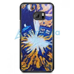 Van Gogh Exploded Tardis Doctor Who Style Art Painting HTC One M10 Case | armeyla.com