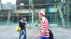 Encontre a Wally en Londres lol!!