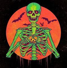 Halloween monsters clip art - hand drawn clipart f