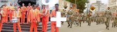 Sensacional Jam junta holandeses e a Banda Militar de Porto Alegre