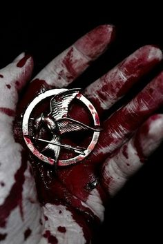 if you've seen The Hunger Games image is really powerful. to fight for what you believe, he goes against what is wrong