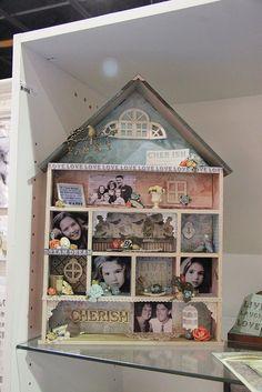 Kaisercraft Dollhouse Shadowbox - CHA Summer 2012 by Shopping Diva, via Flickr