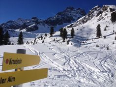 Die Skitouren-Bedingungen zum Kreuzjoch, bzw. Rosskopf auf 2.305m am 19.02.2015 #DachTirols #LoveTirol Mount Everest, Mountains, Nature, Blog, Travel, Crosses, Places, Naturaleza, Viajes