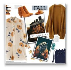 """Fall Palette"" by r-maggie ❤ liked on Polyvore featuring Paul & Joe, Boy Meets Girl, Christian Louboutin and Essie"