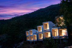 hôtel-Hoshino-Resorts-HOSHINOYA-Fuji Glmaping face au Mt Fuji