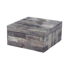 Shop for Dimond Home Large Grey And White Bone Boxes. Get free shipping at…