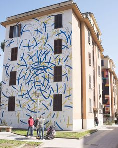 StreetArtRoma: Il vento | Moneyless | 2015 | Zona: Tor Marancia | #art #streetart #roma