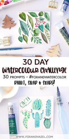 Watercolor Pencils Techniques, Watercolor Pencil Art, Watercolor Sketchbook, Watercolor Projects, Watercolour Tutorials, Watercolor Paintings, Watercolours, Watercolor Tips, Watercolour Challenge