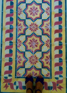 Artes Próceres Lozas cubanas | Tiles from Cuba | Carreaux de ciment Cuba