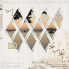 Digital Scrapbooking layout with all supplies from designerdigitals.com