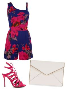 """""""Untitled #1884"""" by ania18018970 on Polyvore featuring WalG, Tabitha Simmons and Rebecca Minkoff"""