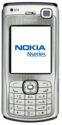 My third mobile handset and my first smartphone... The Nokia N70 was perfect, except for the lack of wifi and GPS. I think Nokia n-series represents the highest moment in Nokia's history. I really miss that company!