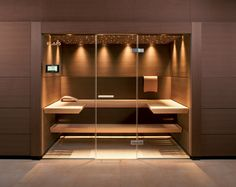 Do you want to create fabulous home sauna design ideas as your home design ideas? Creating a fabulous home sauna sounds great. In addition to making aesthetics in your home, a home sauna is very suitable for you to choose… Continue Reading → Sauna Steam Room, Steam Bath, Sauna Room, Basement Sauna, Home Spa Room, Spa Rooms, Design Sauna, Modern Saunas, Sauna A Vapor