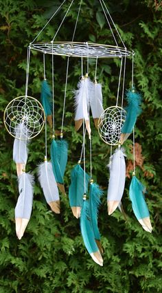 Baby Mobile Woodland Baby Mobile Dream Catcher Gift Baby
