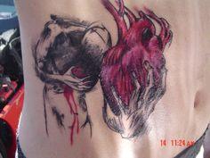 The latest works, news and info about artist Derek Hess. Tattoos For Guys, Cool Tattoos, Derek Hess, Online Portfolio, Angel Tattoo Men, Art Work, Tatting, Body Art, Piercings