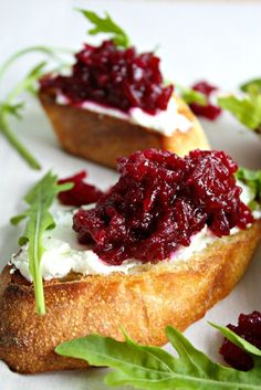 Beet Crostini | Wozz! Kitchen Creations