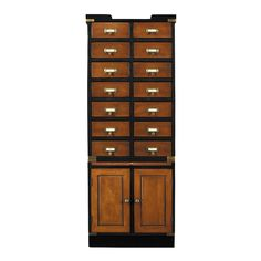 Authentic Models Collectors Cabinet With Doors