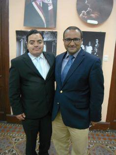 Con Pipo Belaunde, ex-regidor de Lima y candidato al Congreso por Acción Popular. (2013)