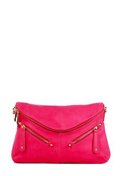 hot pink clutch, yes please!