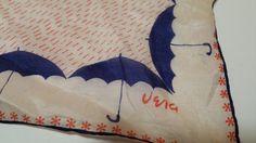 Vintage Vera Silk Scarf mid century by merrirose on Etsy