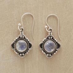 mirror earrings...love