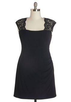 Red Carpet Coverage Dress   Mod Retro Vintage Dresses   ModCloth.com