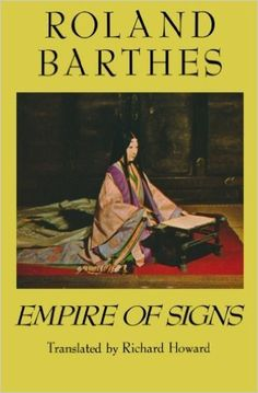 Amazon.com: Empire of Signs (9780374522070): Roland Barthes, Richard Howard: Books