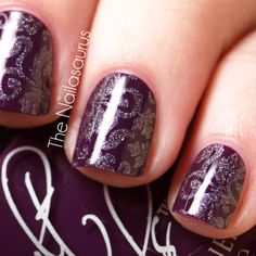 this is gorgeous! it inspired me to get the stamping color (a-england princess tears) and i'm hoping to get the red angel stamp plate