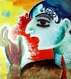 Untitled by Isaac Grünewald on Curiator, the world's biggest collaborative art collection. Henri Matisse, Raoul Dufy, Harlem Renaissance, Louis Jover, Maurice De Vlaminck, Color Secundario, Colors, Expressionist Artists, Art Deco