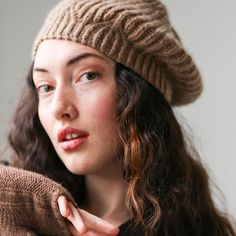 ANDEN BERET • Intermediate Knit Class, February 16, 23 & March 2 (3-5 pm) Fridays