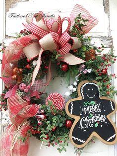 10 Christmas Decor Tips Christmas Wreaths For Front Door, Christmas Door Decorations, Decorating With Christmas Lights, Diy Christmas Ornaments, Plaid Christmas, Christmas Balls, Christmas Time, Christmas Ideas, Gingerbread Decorations