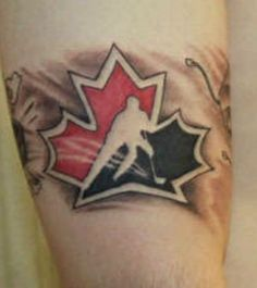 Canadian Tattoos And Designs-Canadian Tattoo Meanings And Ideas-Canadian Tattoo Pictures Dream Tattoos, Cool Tattoos, Tatoos, Maple Leaf Tattoos, Outdoor Tattoo, Canadian Tattoo, Tattoos With Meaning, Tattoo Meanings, Custom Tattoo