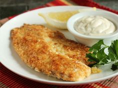 Potato Crusted Fish with Clover Hill Merlot