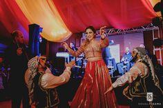 Vestido vermelho tematico indiano