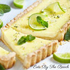 Mojito Tart {With Homemade Lime Curd} Pie Recipes, Baking Recipes, Dessert Recipes, Mint Custard, Lemon Pie Recipe, Banana Dessert, Elegant Desserts, Strawberry Desserts, Hardboiled