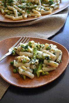 Pea, Asparagus, & Spring Herb Pasta
