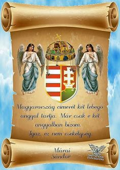 Hungarian Tattoo, Eucharist, Folk Fashion, My Heritage, Coat Of Arms, Budapest, Catholic, Faith, Clouds
