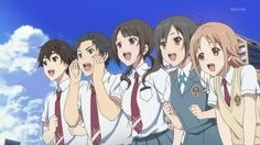 Tari Tari ~~~ Quintet of sweet kids trying to save the day with a song.