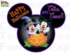 Your place to buy and sell all things handmade Mickey Halloween, Fete Halloween, Halloween Clipart, Holidays Halloween, Scary Halloween, Halloween Pumpkins, Happy Halloween, Autograph Book Disney, Mickey Head