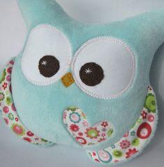 Cute Owl Plush that matches Kaia's bedding