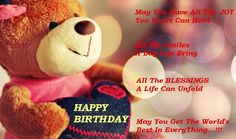 cute and romantic teddy for girlfriend, happy birthday my girlfriend images…