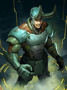 applibot - galaxy saga by Reza-ilyasa on DeviantArt Galaxy Saga, Character Art, Character Design, Sci Fi Characters, Fictional Characters, Dark Ages, Character Illustration, Loki, Cyberpunk