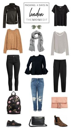 60ec0a17e91 Packing List  Long Weekend in London (The Mom Edit)