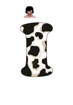 Cows Mooing, Alfabeto Animal, Disney Alphabet, School Frame, Borders For Paper, Monogram Alphabet, Cowboy And Cowgirl, Cow Print, Christmas Art